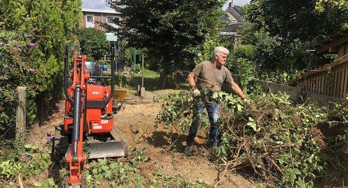 Aanleg en onderhoud van uw tuin