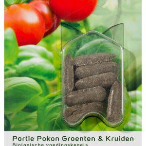 Pokon Groenten & Kruiden Voeding langwerk. kegels (12 stuks)