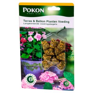 Pokon Terras & Balkonpl Voeding Langwerk. Kegels (10 stuks)